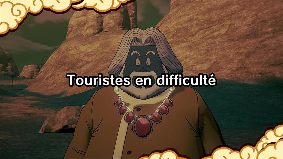 Histoire secondaire Touristes en difficulté