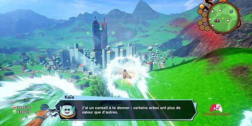 Message de Kaio