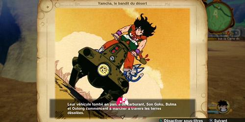 Souvenir Yamcha, le bandit du désert