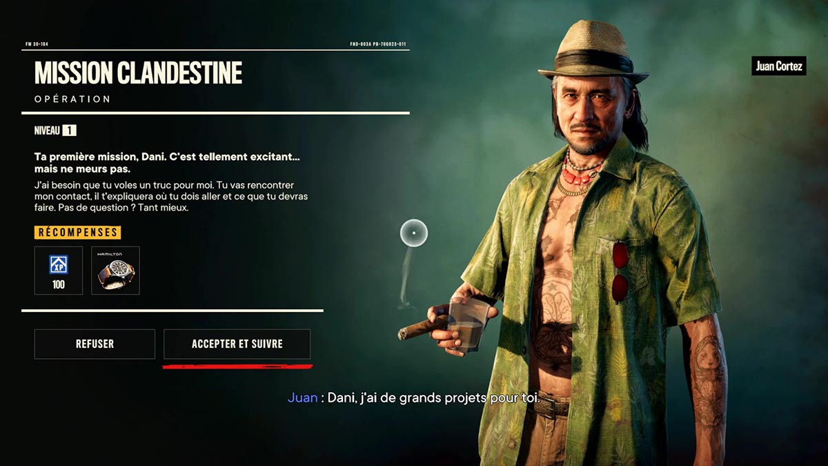 Soluce de la Mission clandestine de Far Cry 6
