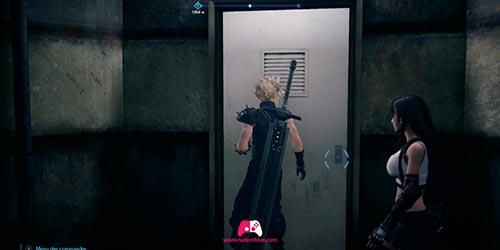 Porte du coffre contenant un élixir