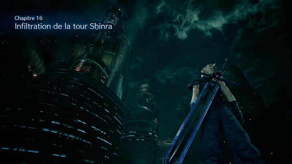 Infiltration de la Tour Shinra