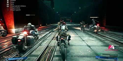 Soldats à moto