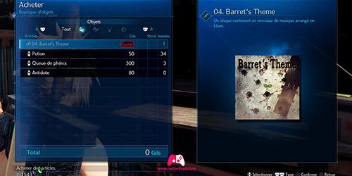 Acheter le Barret's Theme