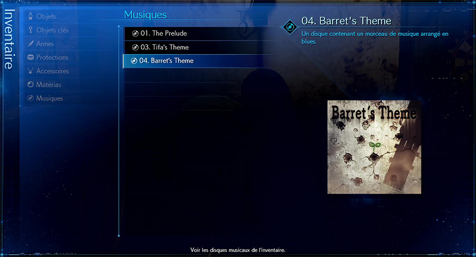 Disque musical - 04 Barret's Theme