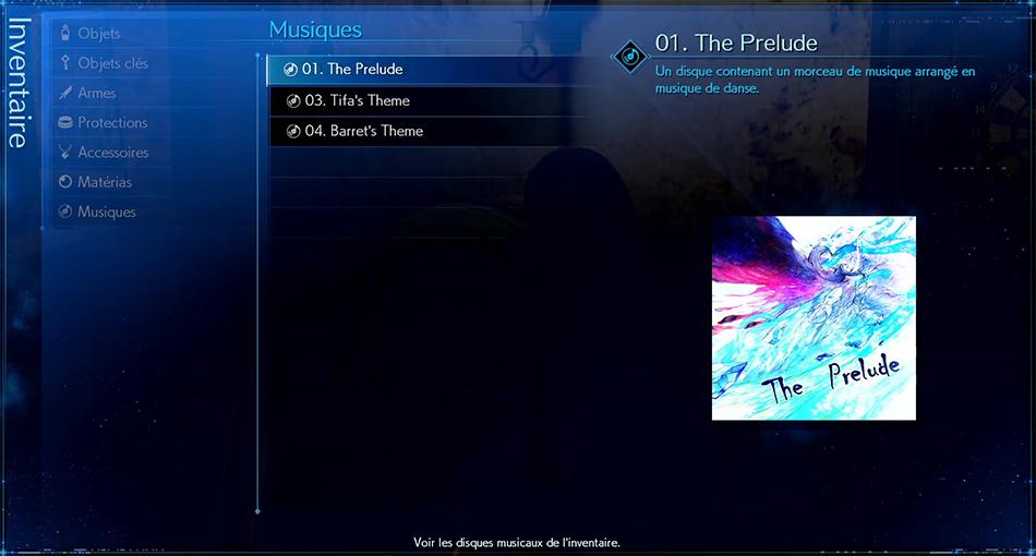 Disque musical - 01 The Prelude