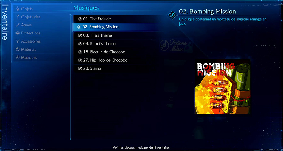 Disque musical - 02 Bombing Mission