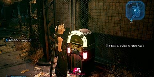 Jukebox au Wall Market