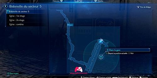 Carte du disque 21 Cait Sith's Theme