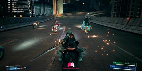 Combat contre les motos