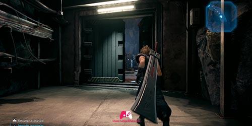 Porte pour accèder au Béhémoth