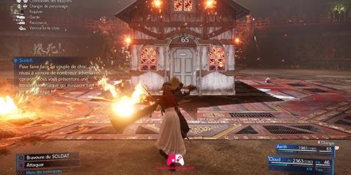 Combat contre la maison infernale