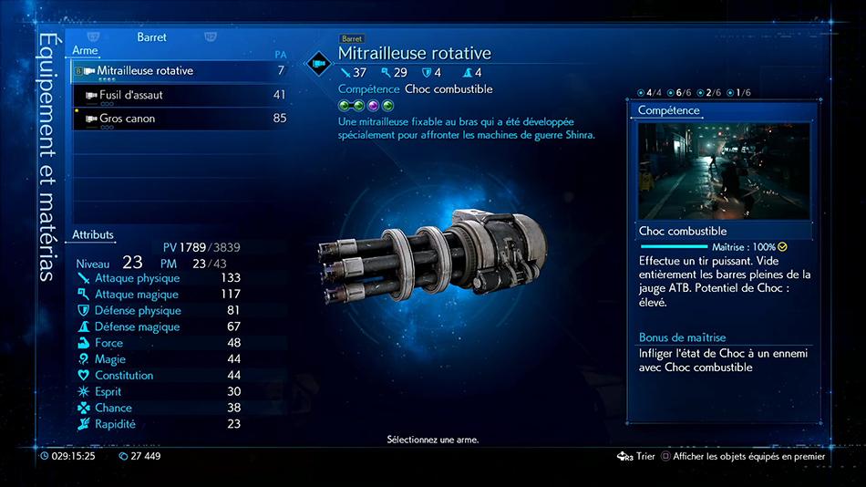 Mitrailleuse rotative