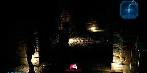 Passage sombre