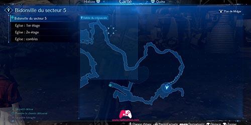 Carte du portail