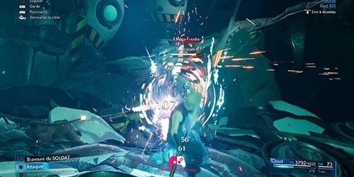 Combat avec RedXIII