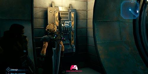 Levier dans le tunnel