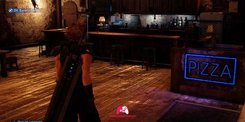 Se balader dans le bar