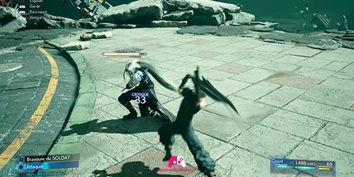 Combat contre Sephiroth