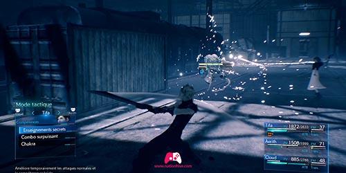 Combat contre le fantome