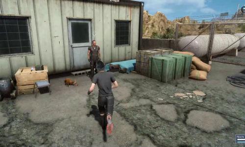 Dave dans la quête L'adieu du chasseur