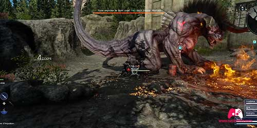 Combat avec le Mortoeil