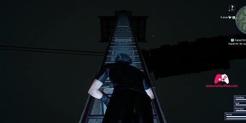 Emplacement du troisième pylône