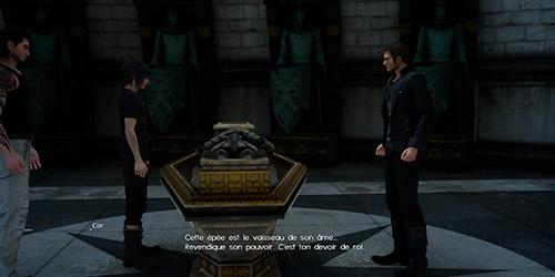 Rencontre avec Cor au tombeau royal