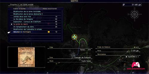 Carte du contrat de chasse Sécuriser la montagne