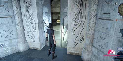 Porte du tombeau