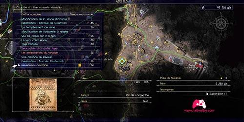 Carte du contrat de chasse Un ennemi amorphe