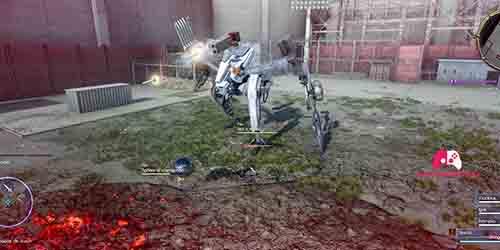 Combat avec l'AM-X Patria