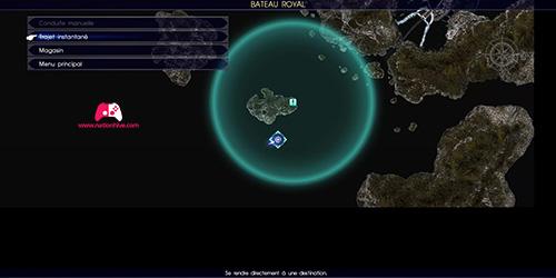 Carte de la quête L'autre dieu aquatique