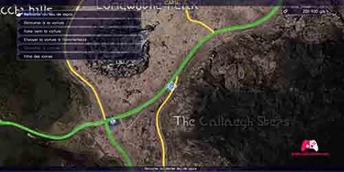 Carte de l'archive du Pic de Longwythe