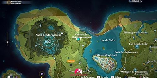 Carte du 13e