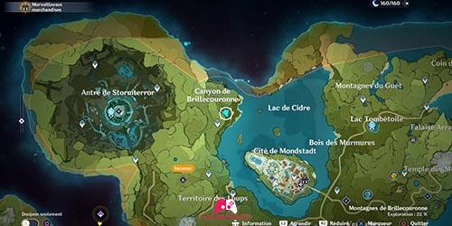 Carte du 14e