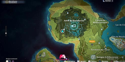 Carte du 22e