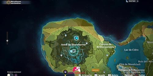 Carte du 25e