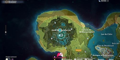 Carte du 28e