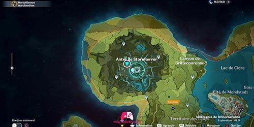 Carte du 29e