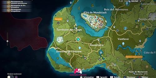 Carte du 3e