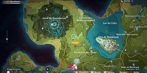 Carte du 32e