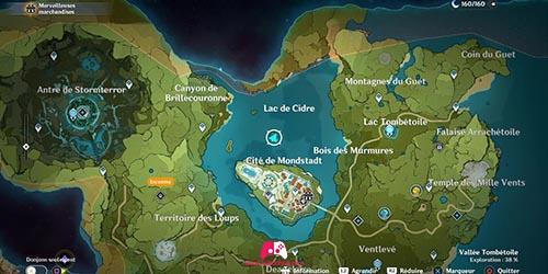 Carte du 33e