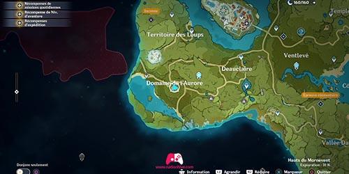 Carte du 4e