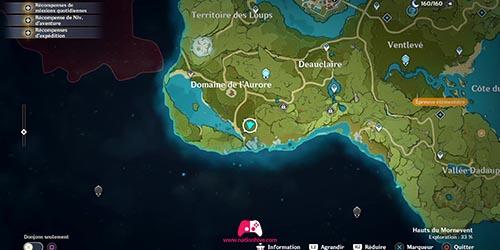 Carte du 6e