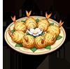 Boulettes de crevettes dorées