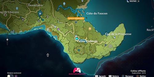 Carte du panorama Cimetière d'épéés oublié