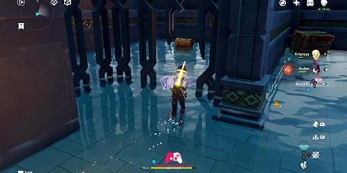Coffre dans le temple