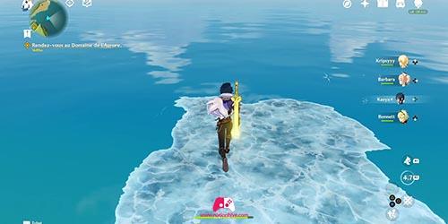 Carte de l'île secrete