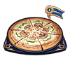 Pizza revigorante